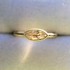 .44ct Antique Marquise Cut Diamond Bezel Ring GIA D 4