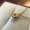 .59ct Fancy Light Yellow Pear/Heart Diamond Pendant, GIA 22