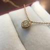 .59ct Fancy Light Yellow Pear/Heart Diamond Pendant, GIA 20