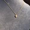 .59ct Fancy Light Yellow Pear/Heart Diamond Pendant, GIA 16