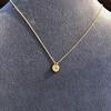 .59ct Fancy Light Yellow Pear/Heart Diamond Pendant, GIA 3