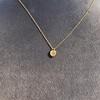 .59ct Fancy Light Yellow Pear/Heart Diamond Pendant, GIA 9