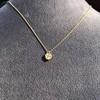 .59ct Fancy Light Yellow Pear/Heart Diamond Pendant, GIA 15