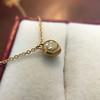 .59ct Fancy Light Yellow Pear/Heart Diamond Pendant, GIA 7