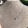 0.67ct Transitional Cut Diamond Pendant Clover Setting 6