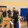 Ryan's Brother Brendan and Father Tom  remembering all of the good times experienced by the O'Day's during Ryan's life at the Ryan O'Day Celebration of Life Ceremony on Wednesday @ Epping High School, Epping, NH on 4-15-2015.  Matt Parker Photos