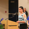 Many students spoke at the Ryan O'Day Celebration of Life Ceremony on Wednesday @ Epping High School, Epping, NH on 4-15-2015.  Matt Parker Photos