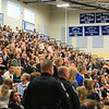 The Epping Gym was at capacity with Family and Friends of Ryan at the Ryan O'Day Celebration of Life Ceremony on Wednesday @ Epping High School, Epping, NH on 4-15-2015.  Matt Parker Photos