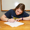 Winnacunnet Senior Alison Hildreth signs a letter of intent to play Field Hockey with the Penmen of Southern NH University in the Fall of 2016 at signing day on 4-13-2016 @ WHS.  Matt Parker Photos