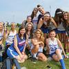 Winnacunnet JV Girls Lacrosse players at Thursday's NHIAA DIV II Girls Lacrosse game between Winnacunnet and Merrimack Valley on 5-26-2016 @ WHS.  Matt Parker Photos