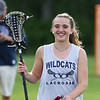 York Junior, Mackenzie Mallett heads off the field after the York Girls Lacrosse practice on Monday, 5-30-2016 at York High School.  Matt Parker Photos