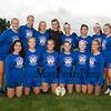 WHS Senior Girls Soccer Team photo at the Winnacunnet Warriors Girls DIV I Soccer vs the Bulldogs of Bedford High School on Thursday 9-20-2018 @ WHS.  WHS-1, BHS-3.  Matt Parker Photos