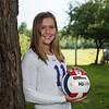 #11 Emily Wheeler, Winnacunnet Warriors Girls Volleyball photo day on Monday 8-27-2019 @ N. Hampton NH.  Matt Parker Photos
