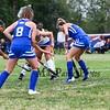 Winnacunnet Warriors Girls Field Hockey Home Opener vs the Blue Devils of Salem High School on Friday 9-6-2019 @ WHS.  WHS-6, SHS-0.  Matt Parker Photos