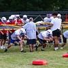 WHS Football Veer Camp on Tuesday 8-13-2019 @ Winnacunnet High School.  Matt Parker Photos
