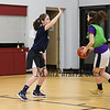 Journeyman 8th Girls Select basketball practice on Thursday 2-28-2019 at Sacred Heart School, Hampton NH.  Matt Parker Photos