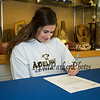 Winnacunnet Warriors Dailyn Annis of Hampton Falls signs a letter of intent to play field hockey in the Fall of 2019 for the Panthers of Adelphi University in Garden City, NY on signing day, Tuesday 4-30-2019 @ WHS.  Matt Parker Photos