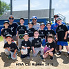 """Emmelynn's Family Farm"" Pee Wee Division, HYA Cal Ripken baseball team photos on Saturday 6-15-2019 @ Tuck Field, Hampton NH.  Matt Parker Photos"