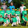 """Watterworth Orthodontics"" Rookie, HYA Cal Ripken baseball team photos on Saturday 6-15-2019 @ Tuck Field, Hampton NH.  Matt Parker Photos"