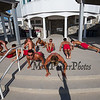 Pre-workout, New Hampshire Hampton Beach Lifeguard Photo Day and morning workout on Sunday 8-11-2019.  Matt Parker Photos
