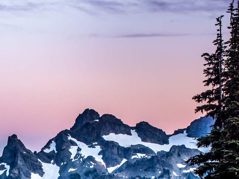Cascade Mountains Sunset