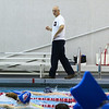 Winnacunnet's Swimming Coach Jim Patterson instructs his swimmers during Wednesday's Boys and Girls practice at the Roger A. Nekton Championship Pool @ PEA on 11-30-2016.  Matt Parker Photos