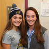 Meg Dzialo (L) and Mikaela Harding WHS Athletic Trainer pose for a photo at the WHS Fall siging day where the Seniors sign letters of intent to play at their respective schools on Wednesday 11-9-2016 @ WHS.  Matt Parker Photos