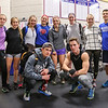 Members of the Boys and Girls Winnacunnet Winter Track Team pose for a photo at Preseason Conditioning on Wednesday 12-7-2016 @ WHS.  Matt Parker Photos