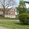 Hampton Academy South-West corner taken from 28 Academy Ave, Hampton, NH on Saturday 5-14-2016.  Matt Parker Photos
