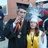 Newmarket Graduation Class of 2016 at Friday's Graduation ceremony @ Newmarket High School on 6-10-2016 @ Newmarket, NH.  Matt Parker Photos