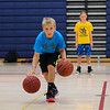 Chance Wright concentrates during a dribbling drill on Tuesday at the Winnacunnet Warrior Summer Hoop Camp on 7-12-2016 @ WHS. Matt Parker Photos
