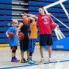 Winnacunnet Boys Basketball Coach Jay McKenna works with his players on Tuesday at the Winnacunnet Warrior Summer Hoop Camp on 7-12-2016 @ WHS. Matt Parker Photos
