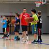 Winnacunnet Boys Basketball Coach Jay McKenna works with his players on Tuesday at the Winnacunnet Warrior Summer Hoop Camp on 7-12-2016 @ WHS. Matt Parker Photos
