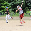 Camden MacNeil rushes in to make a catch during the 26th Annual Bruce Joyce's Granite State Baseball School on Tuesday 7-26-2016 at Exeter High School.  Matt Parker Photos