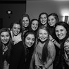 Winnacunnet Girls Basketball Season Banquet at the Seaglass Restaurant & Lounge Salisbury, MA. on Thursday, 3-16-2017.  Matt Parker Photos