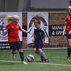 Marshwood Hawks U11 Girls indoor Soccer vs Exeter Hawks at Seacoast United Soccer Club on Saturday 3-25-2017, Hampton, NH.  Matt Parker Photos