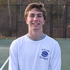WHS Senior Mark Fagan poses for a photo at Tuesday's Winnacunnet's Boys Tennis practice on 4-18-2017 @ WHS.  Matt Parker Photos