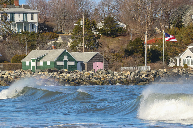 Surfing at North Hampton State Park on Sunday 4-2-2017. Matt Parker Photos
