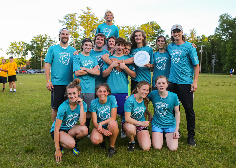 Seacoast Ultimate Frisbee White vs Red on Wednesday 6-14-2017 @ CMS.  Matt Parker Photos