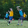 Seacoast Ultimate Frisbee Yellow vs Teal on Wednesday 6-14-2017 @ CMS.  Matt Parker Photos