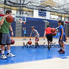 Warrior 6-8th grade Hoop Camp on Wednesday with Coach Jay McKenna and Warrior Basketball players on 6-28-2017 @ WHS.  Matt Parker Photos