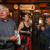 Desi Lanio of the 401 Tavern and John Nyhan, President of Experience Hampton challenge each other a $1000 wager on who can loose the most weight in the month of August with the looser donating the money to the Experience Hampton Christmas Parade on Tuesday August 1st, 2017 at the 401 Tavern, Hampton, NH.  Matt Parker Photos