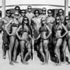 Rookie Lifeguards at the Hampton Beach Lifeguard photo day on Friday 8-11-2017, Hampton Beach, NH.  Matt Parker Photos