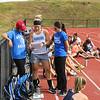 Winnacunnet Girls Field Hockey preseason workout on Monday, 8-14-2017 @ WHS.  Matt Parker Photos