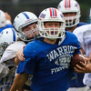 Winnacunnet Warriors Football scrimmage vs the Salem Blue Devils on Saturday 8-19-2017 @ WHS.  Matt Parker Photos-2017 @ WHS.  Matt Parker Photos
