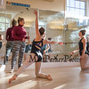 New Hampshire Academy of Performing Arts (NHAPA) Associate Director Kim Patent works with her dancers at Wednesday's practice while in preparation for their upcoming halftime show at the Sugar Bowl collegiate football game in New Orleans on January 1st.  Photo taken on Wednesday 10-24-2018, Hampton Falls, NH.  Matt Parker Photos