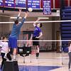 Winnacunnet Boys Volleyball preseason practice on Tuesday 3-27-2018 @ WHS.  Matt Parker Photos