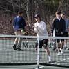 Winnacunnet Boys Tennis preseason practice on Wednesday 3-28-2018 @ WHS.  Matt  Parker Photos