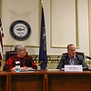 General Federation of Women's Clubs presents Voters' Forum 2018 with Select Board and Swasey Parkway Trustee Candidates on March, 5th, 2018 @ Exeter Town Office Building, Nowak Room, Exeter, NH.  Matt Parker Photos