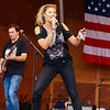 Country Music singer Ayla Brown performs with her band at the Hampton Beach Seashell Stage on Wednesday 7-25-2018.  Hampton Beach, NH.  Matt Parker Photos